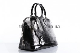 Фото - Сумка Louis Vuitton Alma Epi (4423) цвет Черный