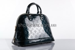 Сумка Louis Vuitton Monogram Vernis (4449) цвет Темно-синий