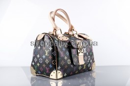 Сумка Louis Vuitton Monogram Multicolore (4667) цвет Черный