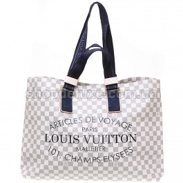 Сумка Louis Vuitton Damier Azur (60141) цвет Кремовый