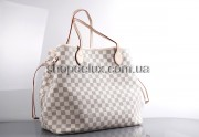 Сумка Louis Vuitton Neverful Damier Azur