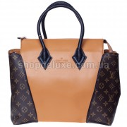 Фото - Сумка Louis Vuitton W 14 (3-120) цвет Кемел